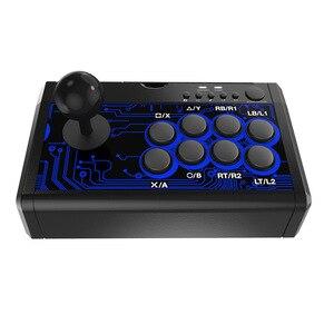 Image 2 - 7 en 1 rétro Arcade Station bâton de combat jeu Joystick USB filaire Rocker pour PS3/PS4/Switch/XBoxOne (S)/360/PC/jeux Android