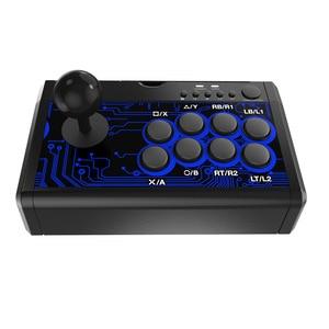 Image 2 - 7 in 1 Retro Arcade Stazione di Bastone di Combattimento Joystick Gioco Usb Wired Rocker per PS3/PS4/Switch/ xboxone (S) /360/Pc/Android Giochi