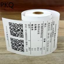 1 рулон 18 мм диаметр сердечника термобумага чеков до рулонов 80*60 мм для Mni мобильный термальный POS принтер 26 метров/рулон