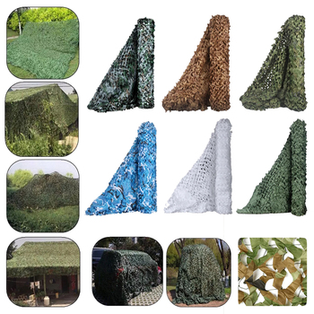 Military camouflage net, hunting shade net, car cover, suitable for courtyard and party decoration, size can be customized