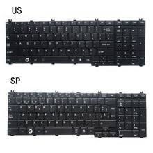 цена на NEW US/SP LAPTOP KEYBOARD FOR Toshiba Satellite C650D C650 C655 C655D C660 C660D C670 L675 L750 L755 L670 L650 AER15U00310