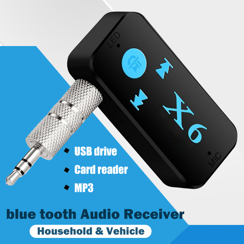 For Bluetooth Usb Adapter Dongle 4.0 Computer Pc Headphones Mp3 Card Reader Speaker Fone Kebidu Audio Carro 3.5mm Mouse Receiver