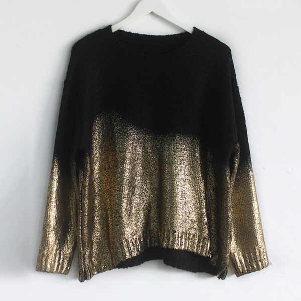 Warm Vetement Femme Women Asymmetrical Hem Knitted Sweater Autumn Pullover 2020 Slouchy Jumper Tops women knitted wear SC656