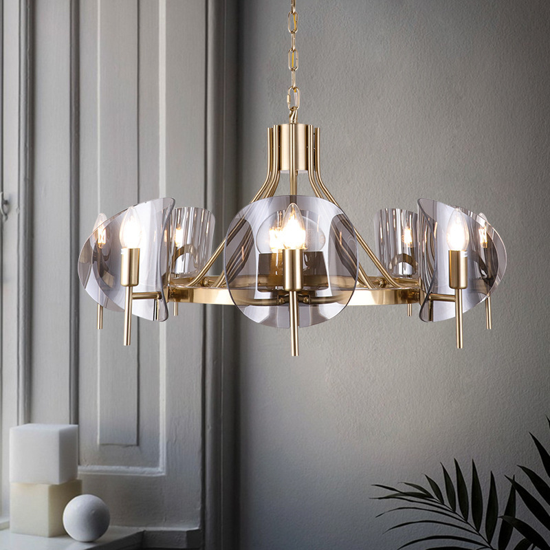 Modern Deco Maison  Hanging Ceiling Lamps Iron  Restaurant  Home Decoration E27 Light Fixture  Industrial Lamp Lustre Pendente
