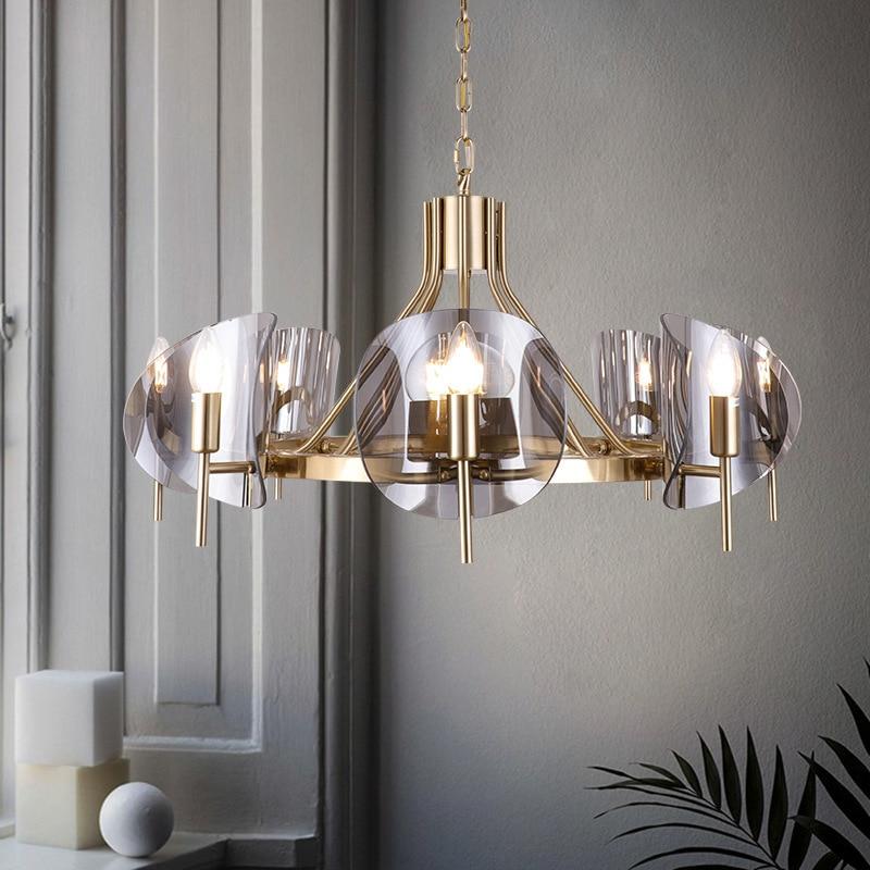 Modern Deco Maison  Hanging Ceiling Lamps Iron  Restaurant  Home Decoration E27 Light Fixture  Industrial Lamp Lustre Pendente