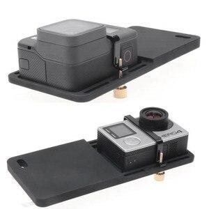 Image 4 - Handheld Gimbal Adapter Schalter Platte Montieren für GoPro Hero 7 6 5 Yi 4k Feiyu Zhiyun Stabilisator DJI Osmo action Zubehör Set