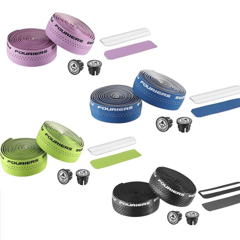 FOURIERS, 7 цветов, ленты для шоссейного велосипеда, велосипедные Рули, полиуретановая велосипедная лента для рук, Аксессуары для велосипеда,