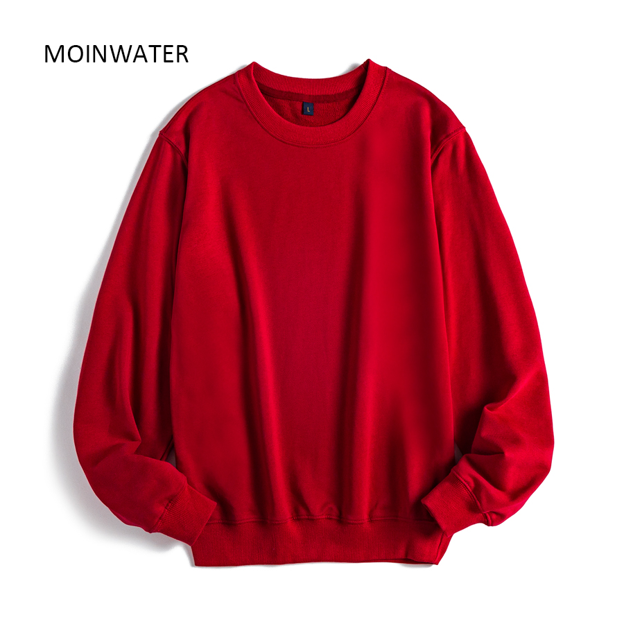 Permalink to MOINWATER Women Casual Sweatshirts Lady New Streetwear Hoodies Female Terry White Black Hoodie Tops Outerwear MH2002