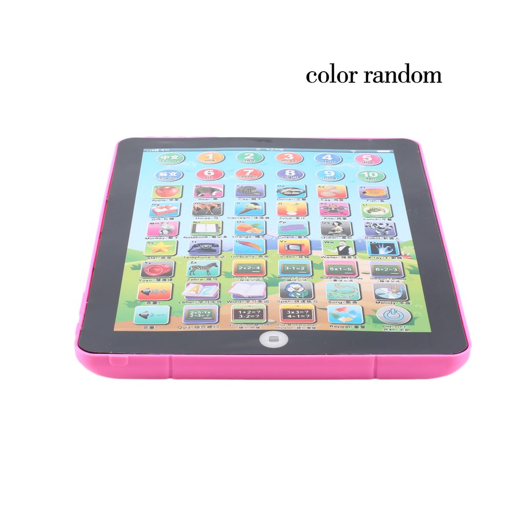 New Early Childhood Learning English Machine Computer Learning Education Machine Tablet Toy Gift For Kid Learning Language image