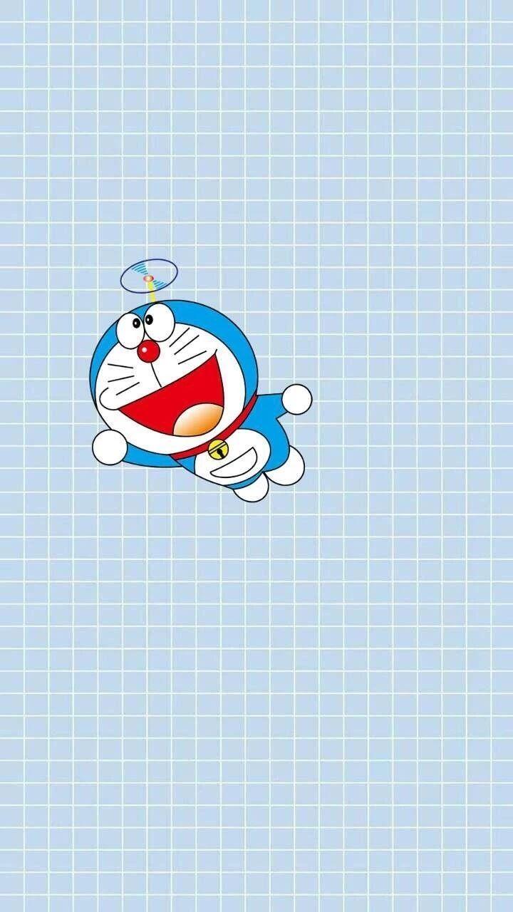哆啦A梦壁纸:可爱哆啦A梦蓝胖子手机壁纸插图51
