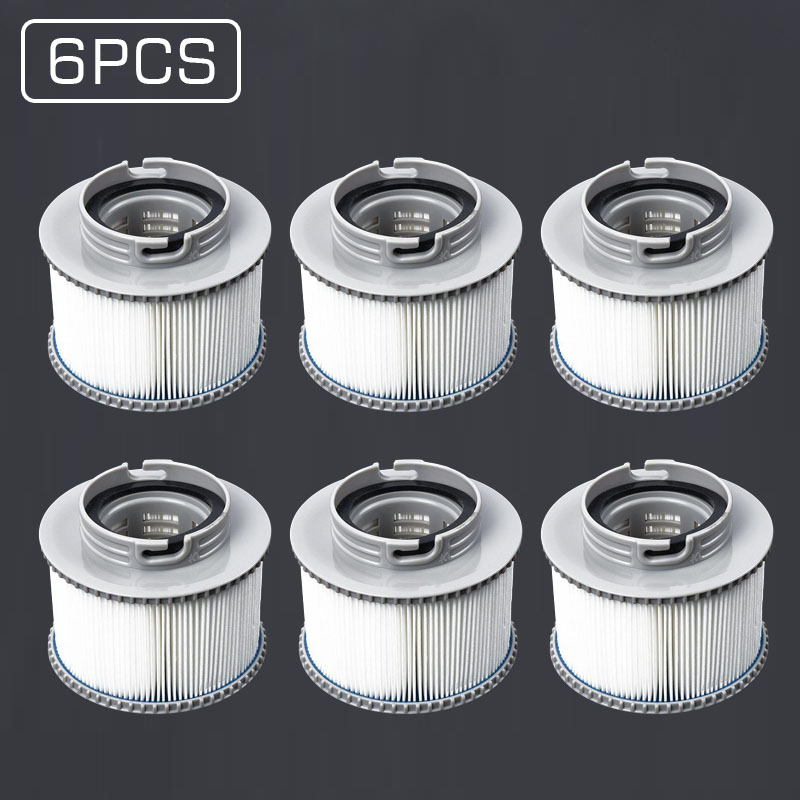 3pcs 6pcs ABS Filters 10 Square Feet For Jacuzzi Spa Pool Inflatable Pool New Arrivals Supplies in Tool Parts from Tools