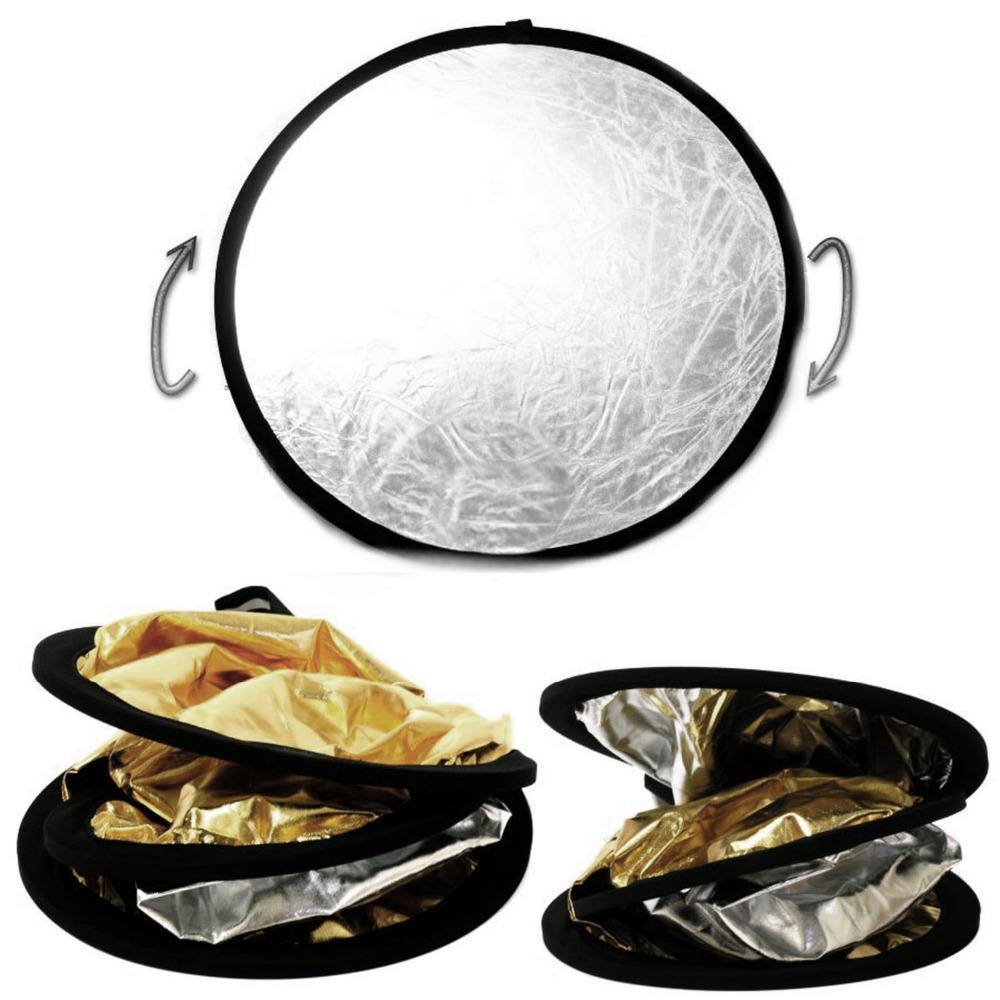Image 5 - Gosear 5 in 1  60cm Round Collapsible Camera Lighting Photo Disc Reflector Diffuser Kit Carrying Case Photography Equipment-in Photo Studio Accessories from Consumer Electronics