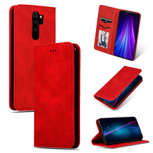 Redmi Note 8T Leather Card Holders Wallet Case Cover for Xiaomi Redmi K20 Note 8 7 6 Pro 8A 7A 7 Magnetic Stand Mobile Phone Bag