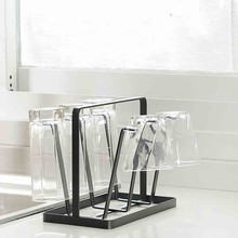Home Kitchen Bar Mug Tree Dishes Dry Rack Holder Coffee Cup Hanger Storage Stand sponshouder keuken opbergrek cups holder
