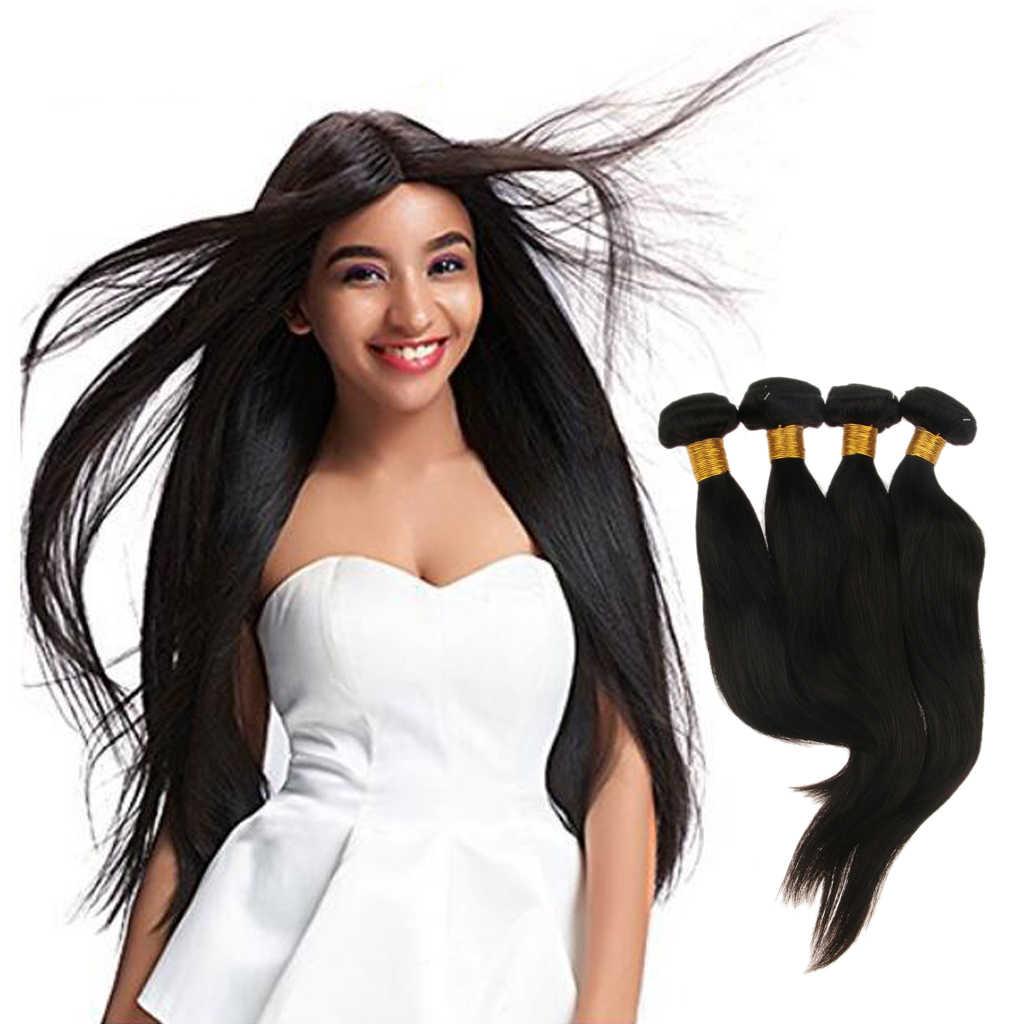 8а бразильские объемные волнистые пряди волос 10 12 14 16 дюймов человеческие волосы для наращивания