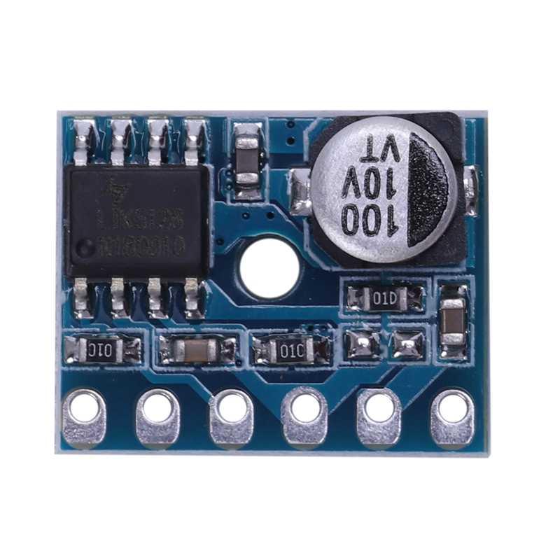 Placa de amplificador Digital XY-SP5W 5128 Clase D 5W Módulo de amplificador de Audio Mono