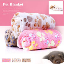 Cat Paw Claw Dog Towel Pet Cat Towel Rug Warm Towel Blanket Sleeping Towel Coral Fleece Blanket Anti-skid Easy To Sleep Comfort(China)