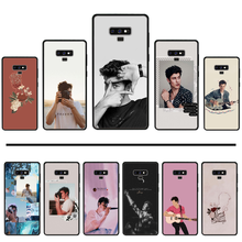 Shawn Mendes Zwart Tpu Soft Phone Case Cover Voor Samsung Galaxy S8 S9 S10 Plus Lite S10E Note 3 4 5 6 7 8 9 10 Pro Cover(China)