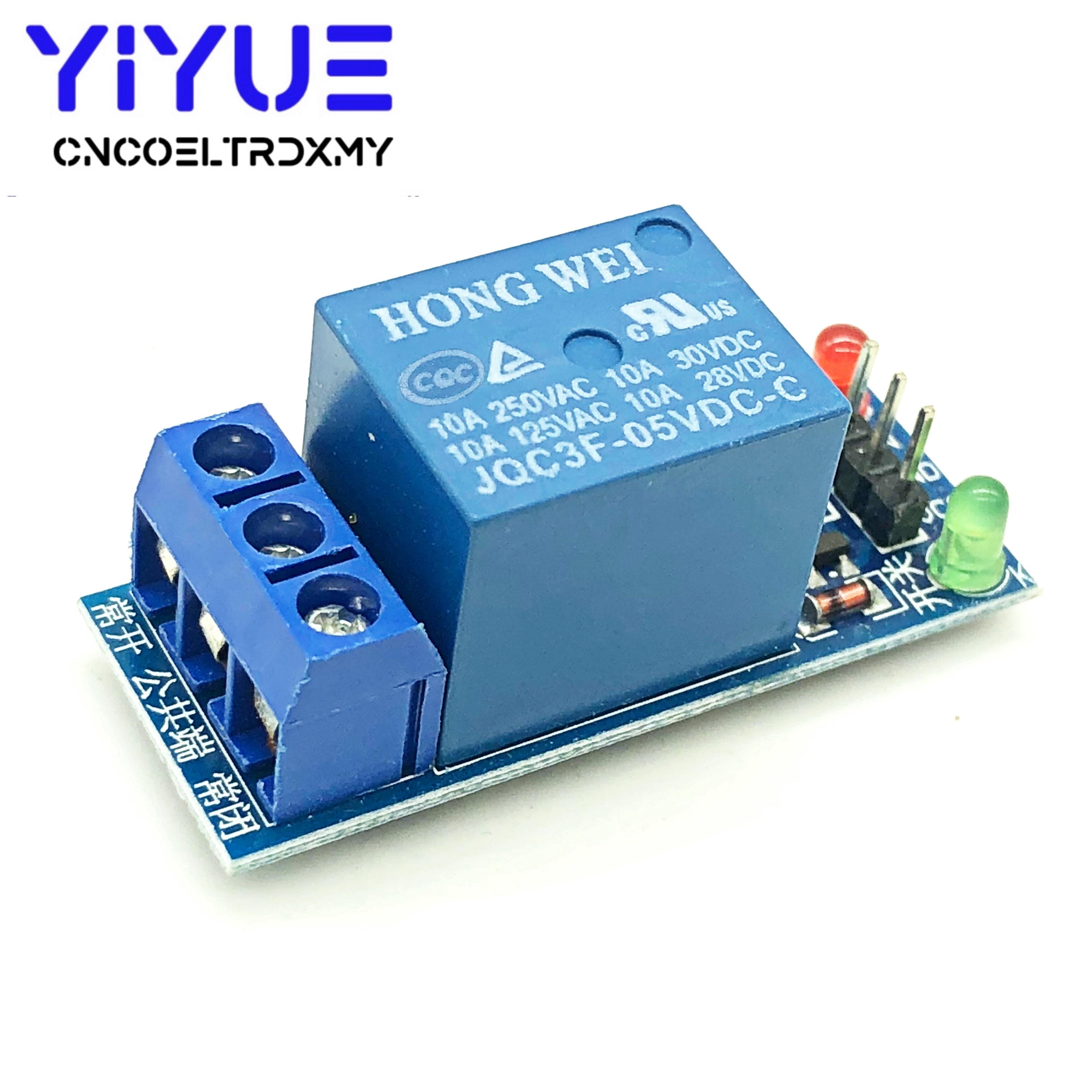 5 в 12 в 1 один канал релейный модуль низкий уровень триггера для SCM бытовой техники управления для arduino DIY Kit