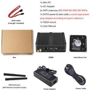 Image 5 - YCSD 팬리스 미니 PC 듀얼 LAN 셀러론 N2810 J1900 미니 컴퓨터 2 * 기가비트 LAN Windows 7 10 WIFI HDMI USB 데스크탑 마이크로 Htpc Nuc