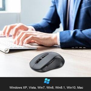 Image 5 - TeckNet 2.0 USB Mouse Senza Fili Del Mouse Del Computer Con Ricevitore Wireless 2.4G Mouse 2000DPI 10M SUPER Mouse Per Computer senza fili PC Del Computer Portatile