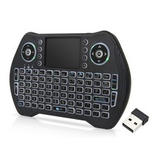 MT10 Air Mouse Wireless Presspad Keyboard 3 Colors Backlight Remote Control for Smart Android TV Box(China)