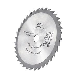 Image 4 - 1XCAN חשמלי מיני להב עגול חיתוך להב עבור נגרות מנותק דיסק 85x10mm 36 שיניים