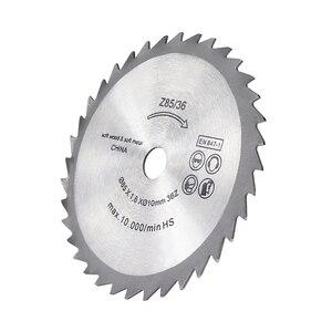 Image 4 - XCAN شفرة منشار كهربائي صغير شفرة قاطعة دائرية لأعمال النجارة قطع القرص 85x10 مللي متر 36 الأسنان