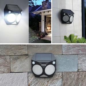 Image 5 - Ousam LED Solar Light Outdoor Motion Sensor RGB Lamp Dual PIR Waterproof Super Bright Security Solar Garden Light For Patio Yard