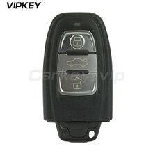 цена на Remotekey remote car key Smart key  for Audi 8T0959754C A3 A4 A6 A5 A8 Q5 Q7 3 button 868Mhz pcf7945