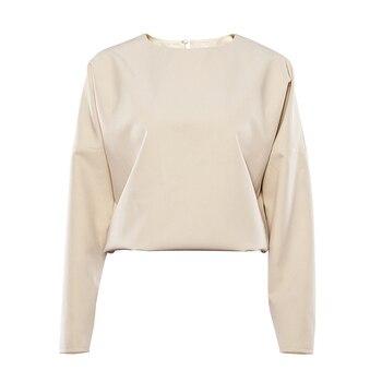 OOTN Casual High Waist Khaki Pants Women Summer Spring Brown Ladies Office Trousers Zipper Pocket Solid Female Pencil Pants 2020 8