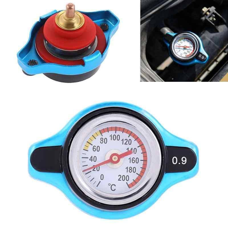 Small Head Car Radiator Cap Water Temp Meter Thermostatic Gauge with Water Temperature Gauge 1.1bar