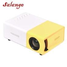 Salange YG300 детский мини проектор Mini LCD светодиодный проектор 800 люмен 320x240 пикселей лучший видео проектор для детей