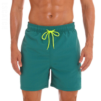 ESCATCH Mens Swimwear Swim Shorts Trunks Beach Board Shorts Swimming Pants Swimsuits Mens Running Sports Surffing Shorts 11