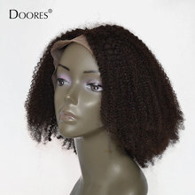 Bob Curly Lace Front Human Hair Wigs For Black Women Bleached Knots Afro Kinky Curly Wig With Baby Hair 4×4 Indian Hair Wig