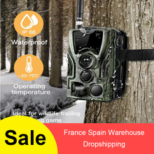 HC-801M 2G Hunting Camera 16MP Trail Camera SMS/MMS/SMTP IP65 Photo Traps 0.3s Trigger Time Camera Trap Wild Cameras 16mp trail hunting cameras 8gb crad 4g network smtp auto mms and sms command infrared wildlife surveillance camera ir photo trap