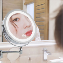 Bathroom Mirror Touch Magnification Led Dimming Adjustable