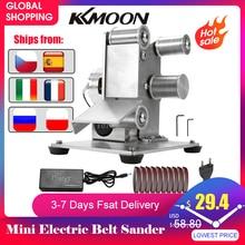 Angle Grinder Grinding Machine Belt Grinder Mini Electric Belt Sander DIY Polishing Grinding Machine Cutter Edges Sharpener