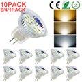 MR11 GU4 светодиодный светильник лампочки переменного тока DC12V-24V 2835 SMD светодиодный лампы 3W 5W галогенные лампы Bi-Pin Базовая Точечный светильник,...