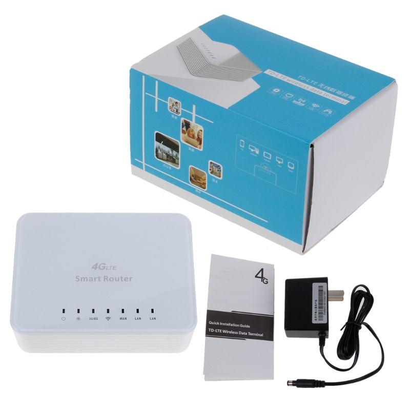 Débloqué 150Mbps 4G LTE CPE Mobile WiFi Routeur Sans Fil 2.4GHz WiFi Hotspot Pour la Fente De Carte de SIM Avec Port Lan Carte SIM Fente A9SM