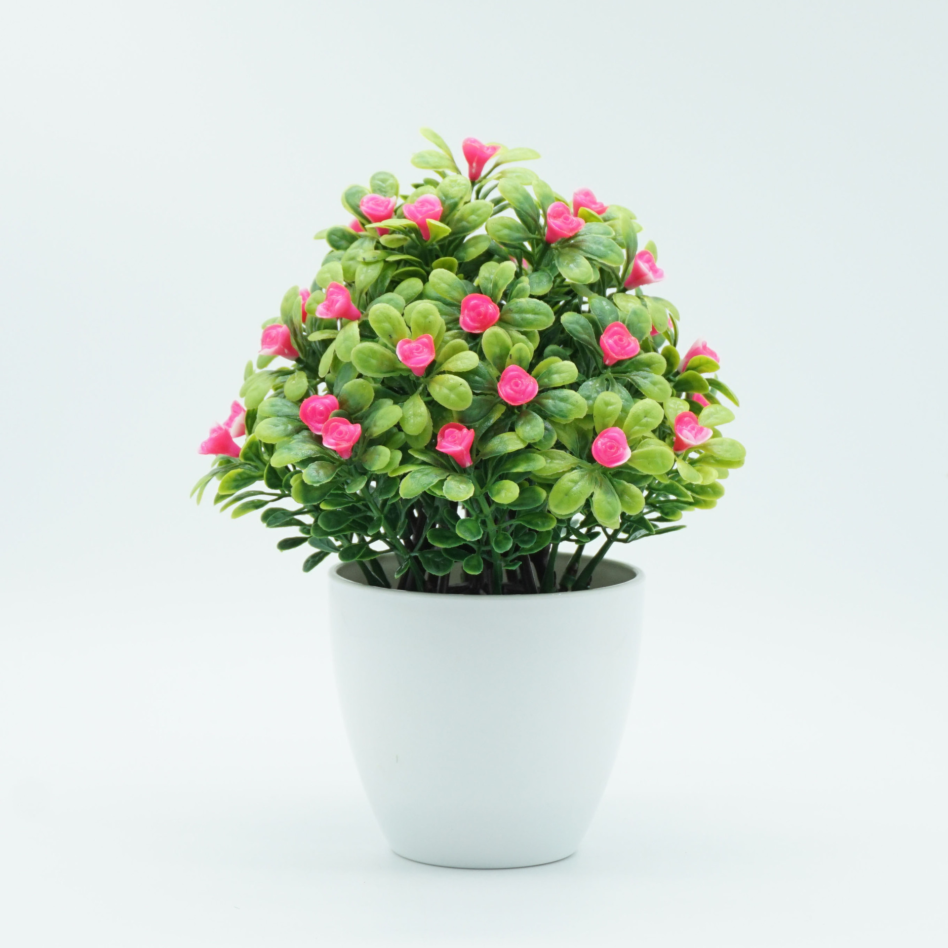 Manufacturers Direct Selling New Style Imitation Flowers Bonsai Plastic Flower Artificial Flower Potted Plant Small Ornaments Li thumbnail
