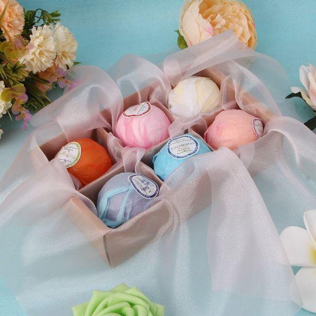 Organic Bath Bombs Bubble Bath Salts Essential Oil Handmade SPA Stress Relief 2