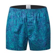 Yeni marka erkek iç çamaşırı Boxer erkek pamuk boksörler Hombre Cuecas Masculina Boxershorts erkek Vetement Homme boyutu M-3XL