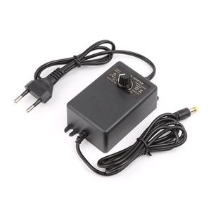 Image 4 - Adjustable Power Supply Adapter For Motor Speed Controller 3 12V 2A EU Plug