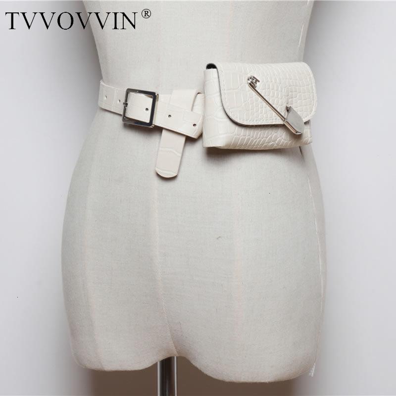 TVVOVVIN Vintage Women Cummerbunds Fashion New 2019 Autumn Wild Detachable Mini Personality Pouch Elegant Cummerbunds X601