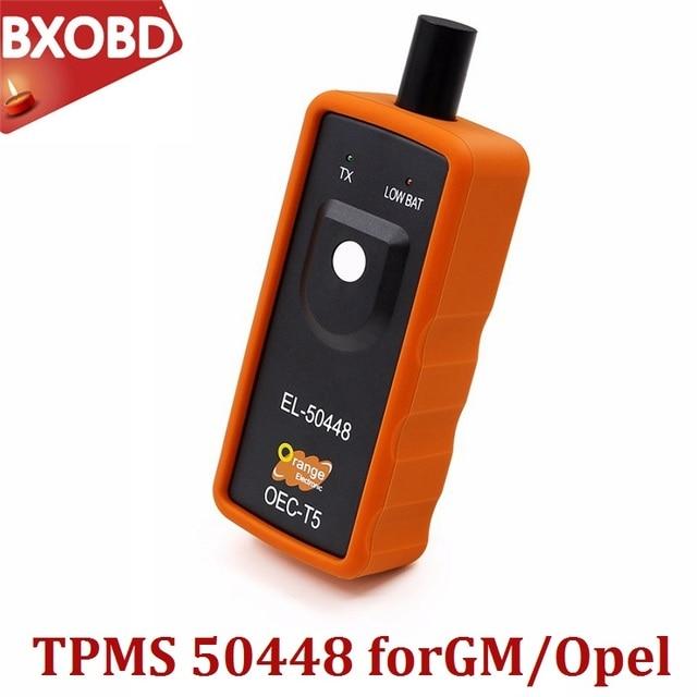 TPMS EL 50448 OEC T5 Cho Opel/G M Hệ Thống Giám Sát Áp Suất Lốp EL50448 TPMS Thiết Lập Lại Công Cụ Opel EL 50448 TPMS kích Hoạt Công Cụ