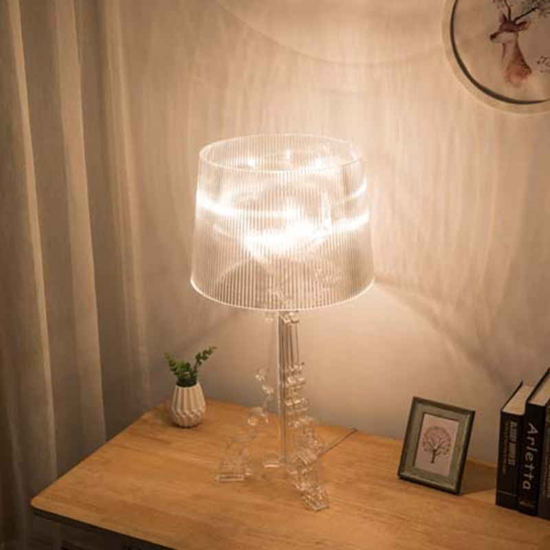 Image 3 - Modern Simple Ghost Shadow Clear Transparent Acrylic Table Lamps Light Bedroom Bedside Study Acrylic Desk Lamps Light