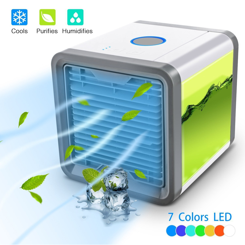 Portable Car Home Mini Air Cooler To Easily Cool Any Space Of Air Conditioning Fan Set Office Desk Personal Space Cooler