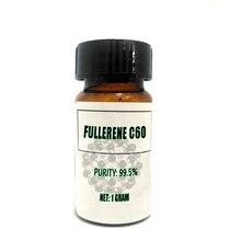 99.5% Fullerene C60 Carbon 60 Fullerence C60 Fullerenes Buckminsterfullerene Buckyballs for Longevity Antioxidant Immune Booster