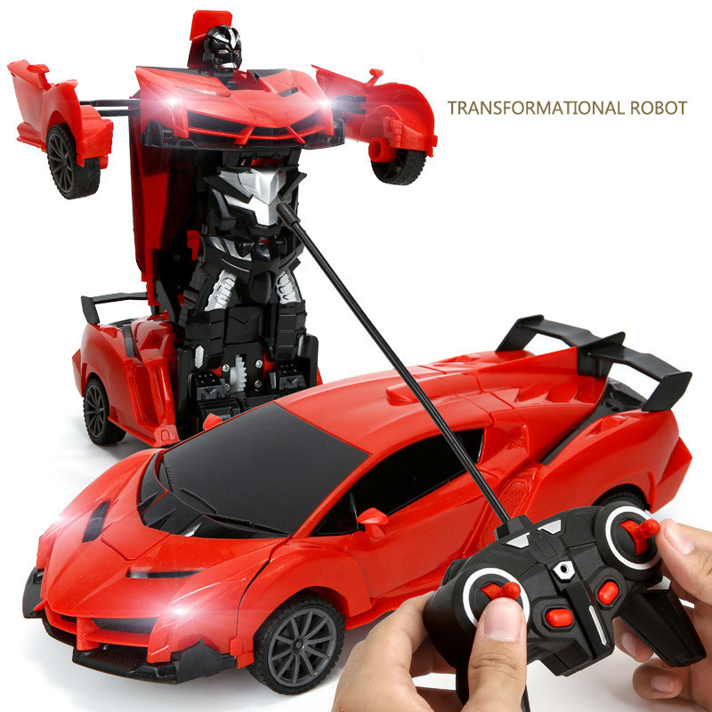 Remote Control Car Toys Driving Sports Robots Models Fighting Rc Transformer